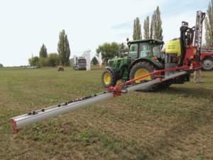 iXter A, barra per trattamenti portata assai adatta, per dimensione e ampiezza, all'agricoltura italiana.