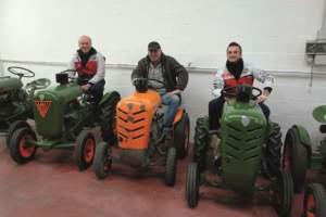 Da sinistra: Claudio Lugli, Agostino Benatti e Davide Lugli.