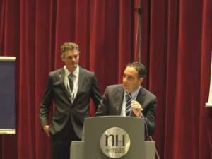 Rinaldin e Hogervorst al congresso Climmar di Venezia.