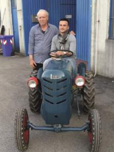 Claudio Lugli e suo figlio Davide
