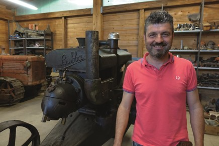 Jacopo Santamaria, dalle moto ai trattori